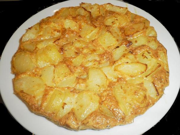 frittata di patate senza uova ricetta