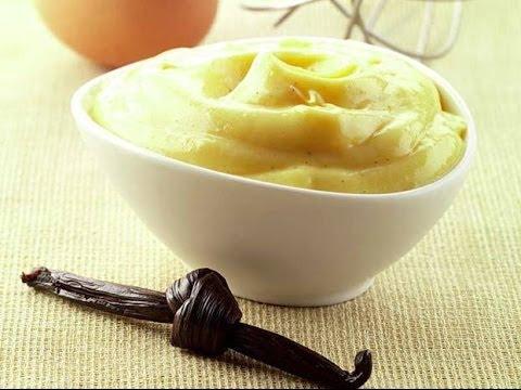 Crema pasticciera alla vaniglia.