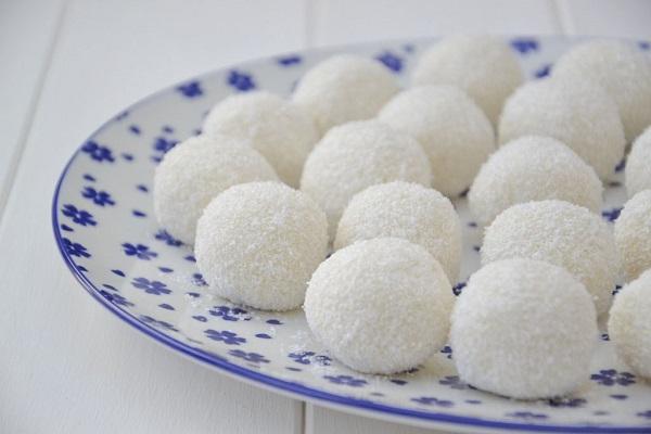 ricetta delle palline al cocco