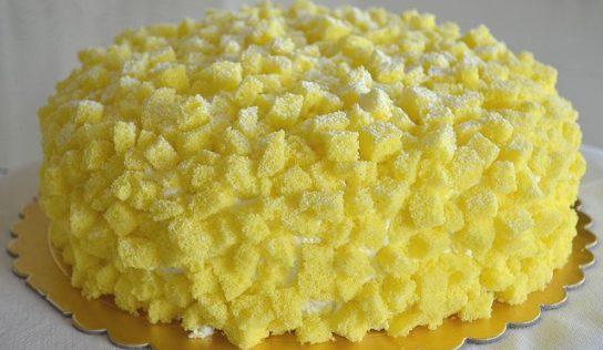 Torta mimosa ( semplicissima e buonissima)