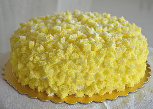torta mimosa gustosa