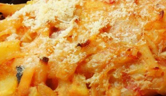 Pasta e patate al forno ( ricetta cosentina).