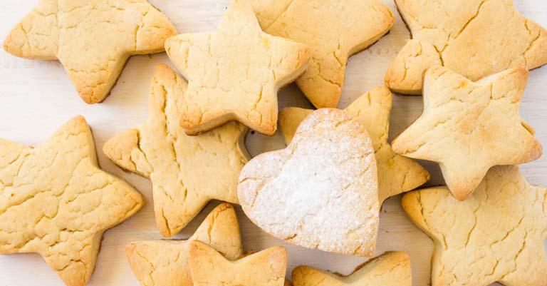biscotti per impegnare i bambini