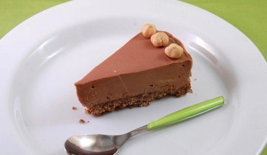 Cheesecake alla nutella veloce e senza cottura.
