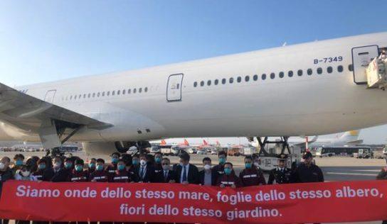 È arrivato in Italia il secondo team cinese