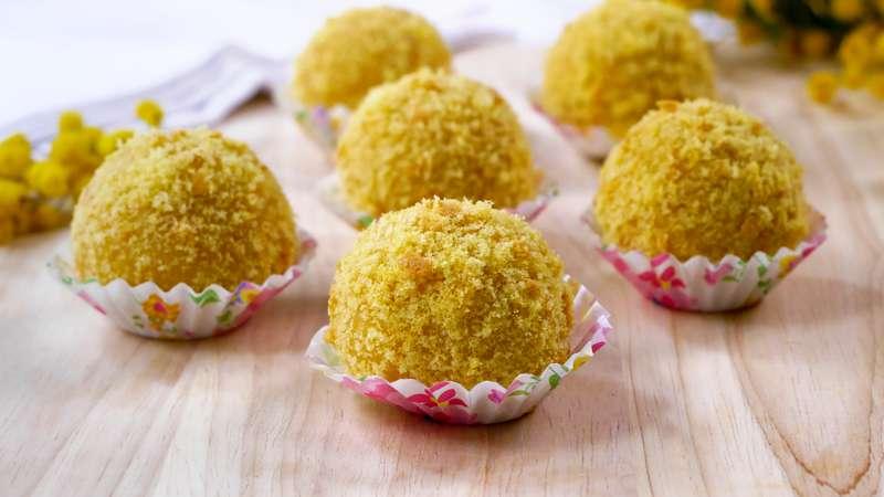 ricetta palline di mimosa