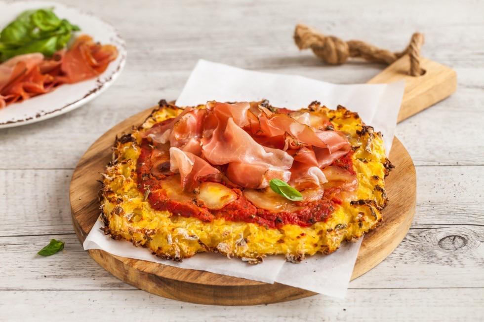 pizza con base di patate
