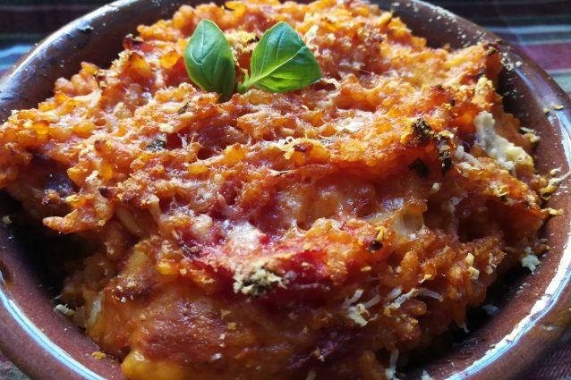 ricetta riso al forno calabrese