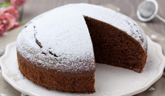 Torta al cioccolato, veloce, 5 ingredienti.