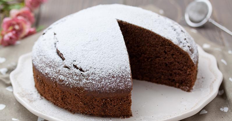 torta al cioccolato veloce 5 ingredienti