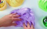 Fare il fluffy slime a casa.