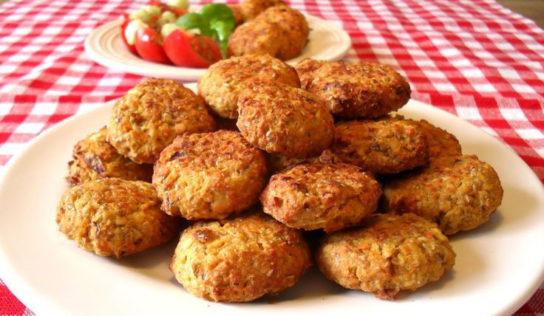 Polpettine vegetariane e senza uova