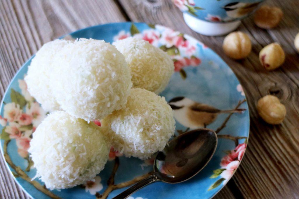 ricetta tartufi al cioccolato bianco e cocco