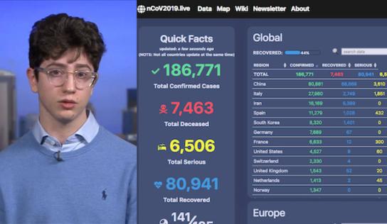 Un 17enne in Usa: rinuncia a 8 milioni di dollari per il suo sito traccia-Covid