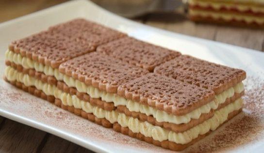 La mattonella fredda di biscotti.