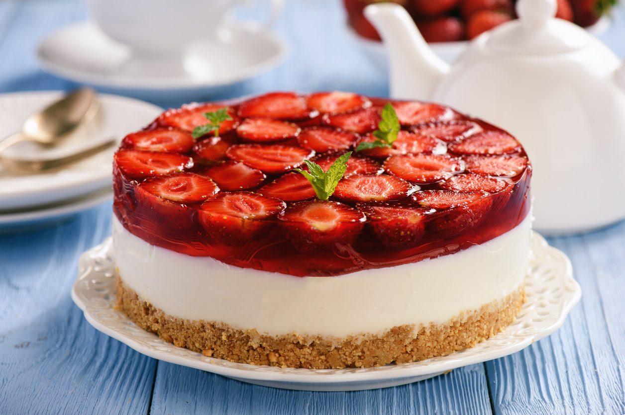 ricetta della cheesecake alla fragola