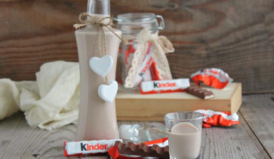 Liquore al cioccolato kinder.