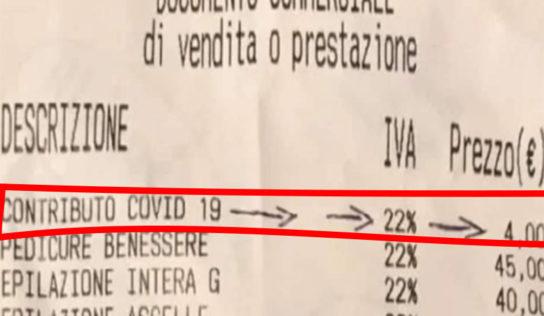 La tassa Covid-19 sugli  scontrini. Attenzione!