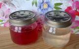 Deodorante per ambienti fatto in casa in gel