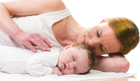 Ricorrere al rumore bianco quando il neonato non dorme.
