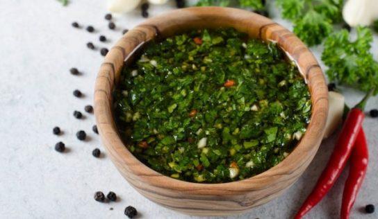 Salsa chimichurri argentina ricetta