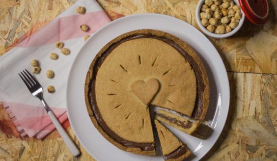 Crostata nutella biscuit
