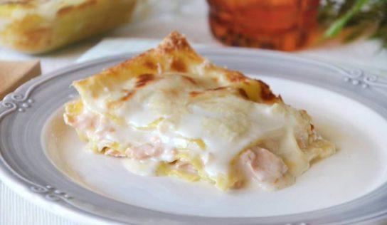 Le lasagne al salmone