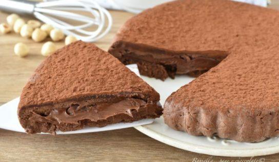Torta Biscotto alla Nutella Ricetta 3 Ingredienti