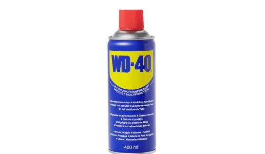 Spray WD40: utile in diverse situazioni.