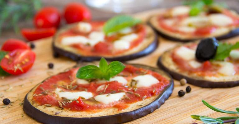 ricetta melanzane come pizza