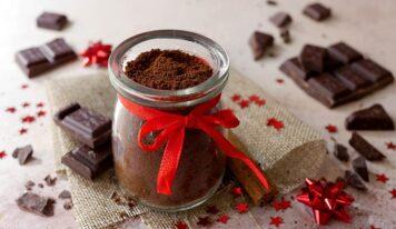Preparato per cioccolata calda, idea regalo