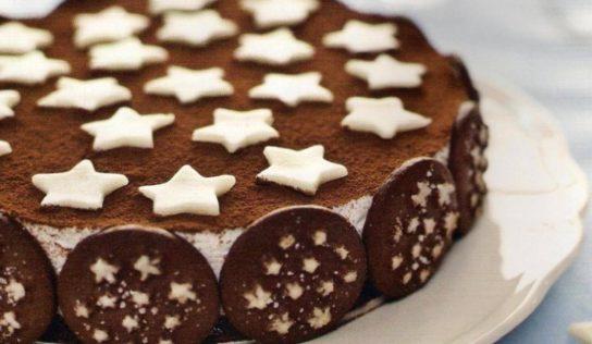 Torta pan di stelle con mascarpone