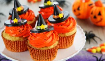 Halloween: zombie cupcakes senza burro