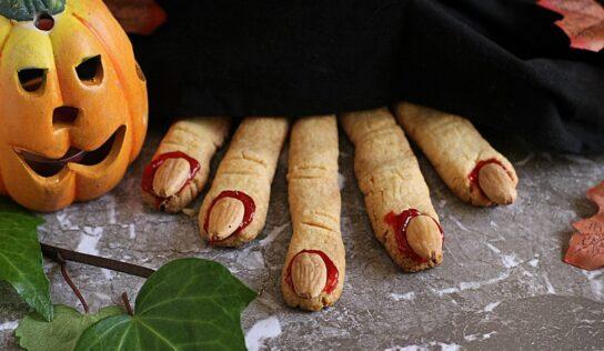 Halloween: dita di strega