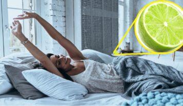 I benefici ottenuti mettendo un limone vicino al letto prima di dormire