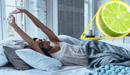 Benefici del limone mettendolo vicino al letto prima di dormire