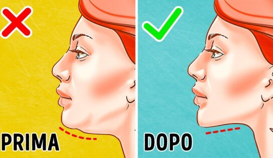 Come eliminare il doppio mento con la giusta ginnastica.