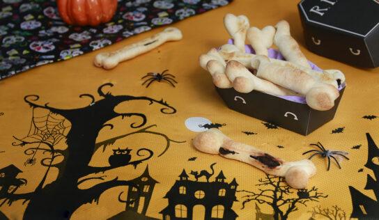 Halloween: Ossa di pane e cioccolato