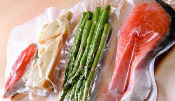 Sottovuoto casalingo, ideale per conservare le verdure.