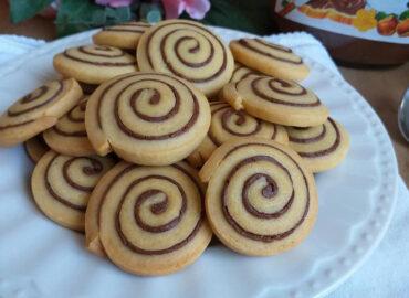 Girelle di Pasta frolla alla Nutella, ricetta semplice e golosa.