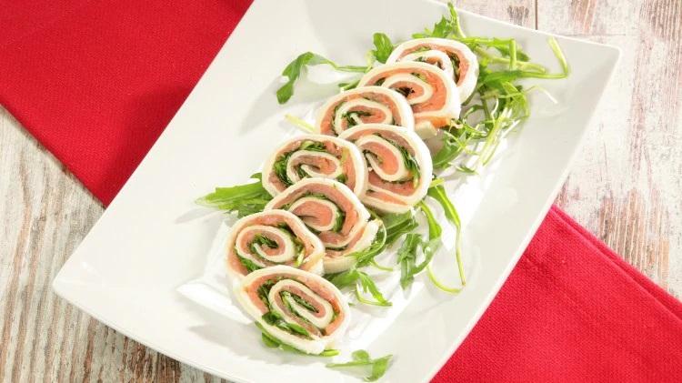 Ricetta girelle al salmone