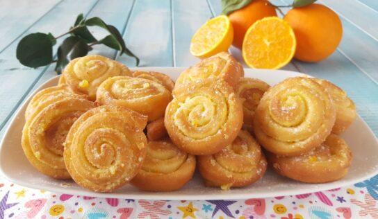 Girelle di carnevale al limone cotte in forno