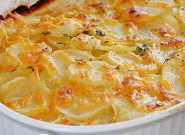 Parmigiana di patate, della provincia di Cosenza, ricetta veloce, semplice e gustosa
