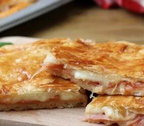 Pizza rustica veloce, focaccia buonissima senza lievitazione