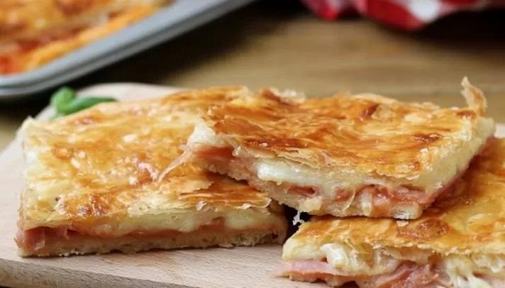 ricetta pizza rustica veloce