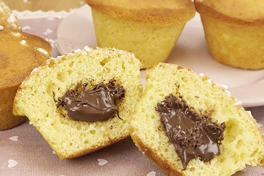 ricetta muffin alla nutella