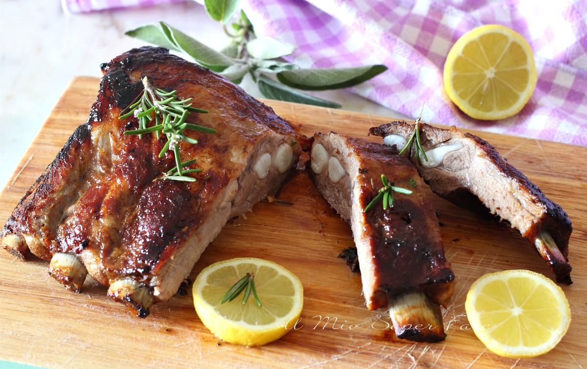 ricetta costolette di maiale al forno