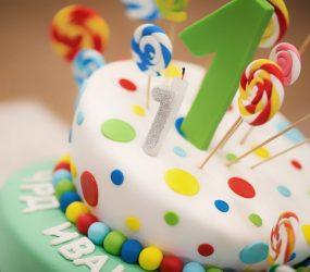 L'importanza della festa di compleanno anche se il bambino è molto piccolo.