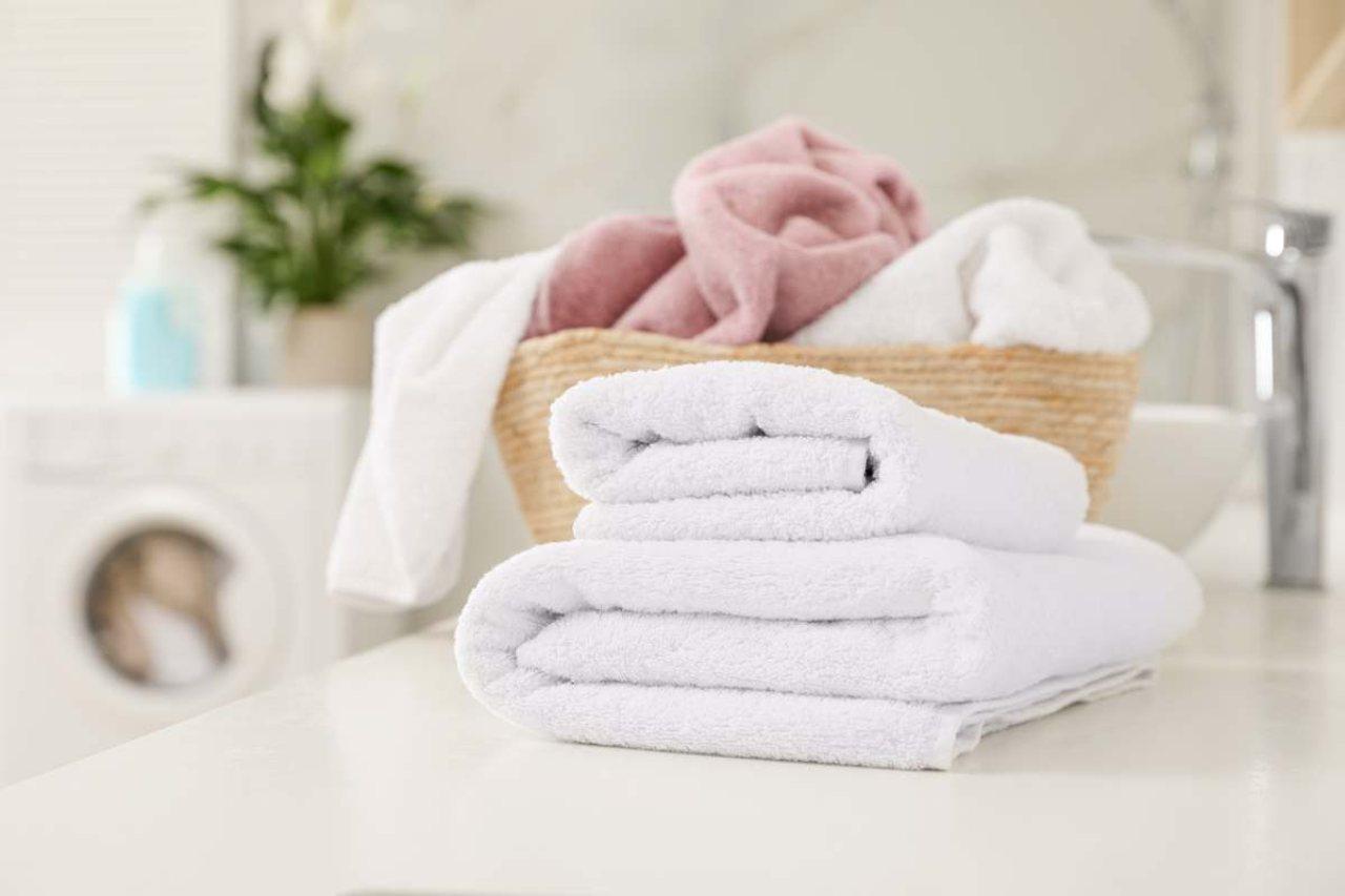 eliminare il cattivo odore degli asciugamani