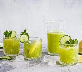 Limonata verde, molto dissetante, rinfrescante e gustosa
